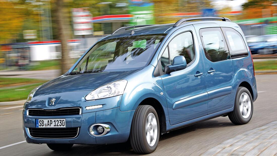 Peugeot Partner Tepee, Seitenansicht