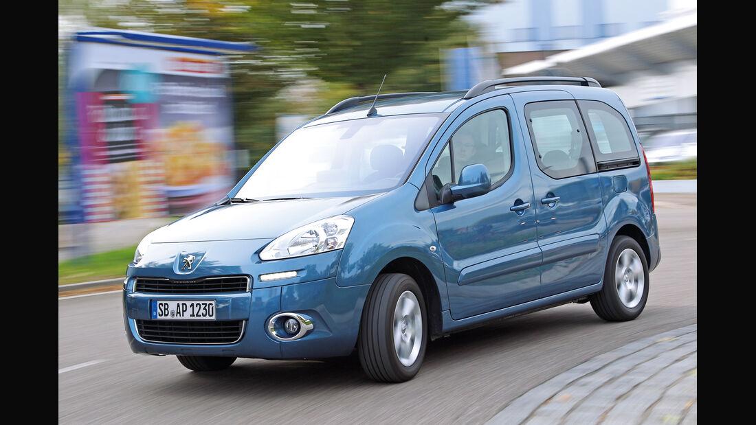 Peugeot Partner VTI 95, Frontansicht