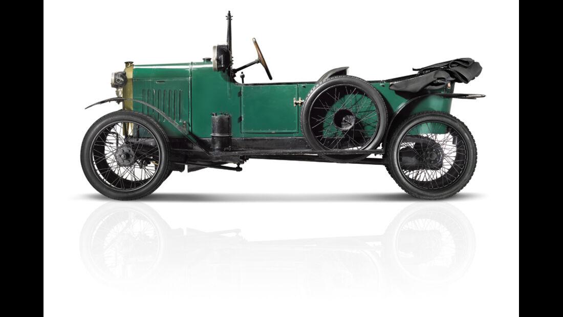 Peugeot Quadrilette, 1921