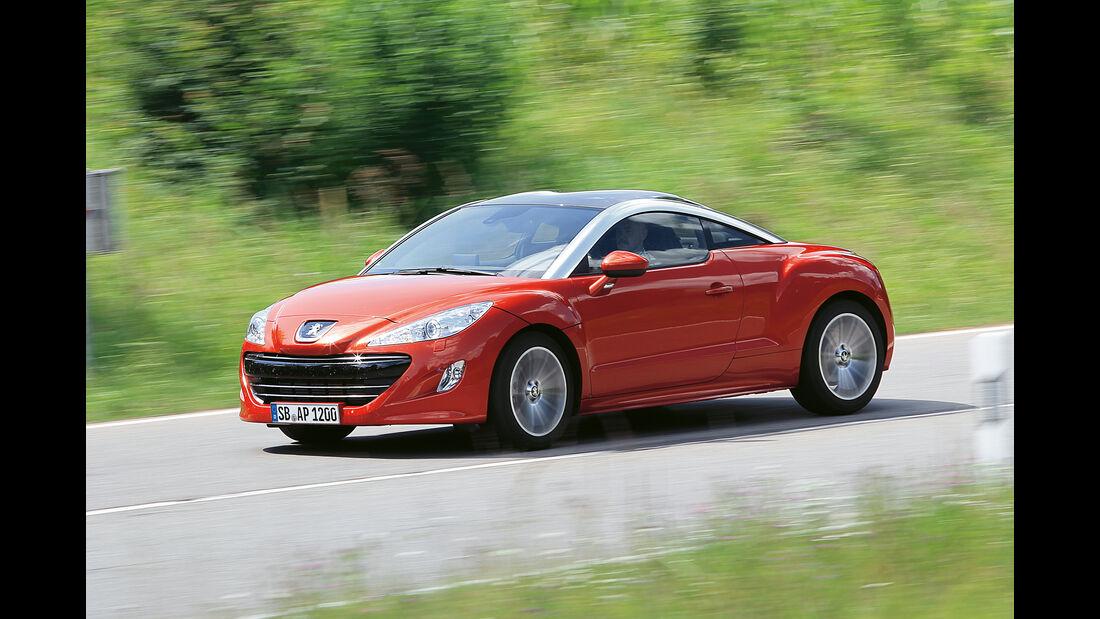 Peugeot RCZ 1.6 200 THP, Seitenansicht