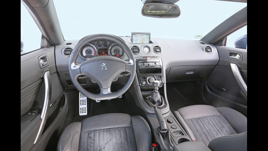 Peugeot RCZ 2.0 HDi 160, Cockpit
