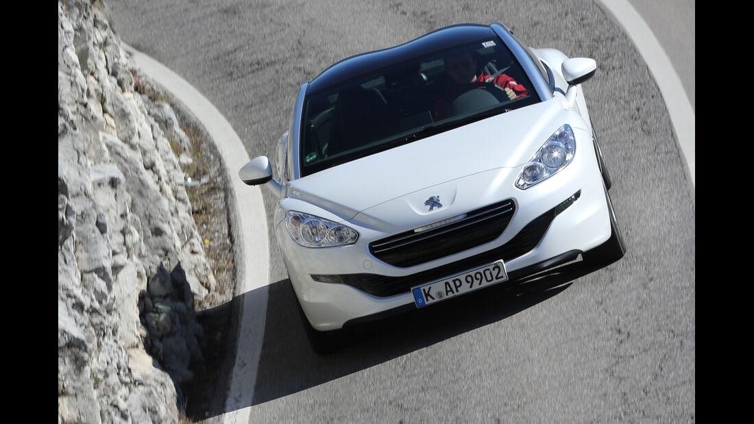 Peugeot RCZ 2.0 HDi 160, Frontansicht