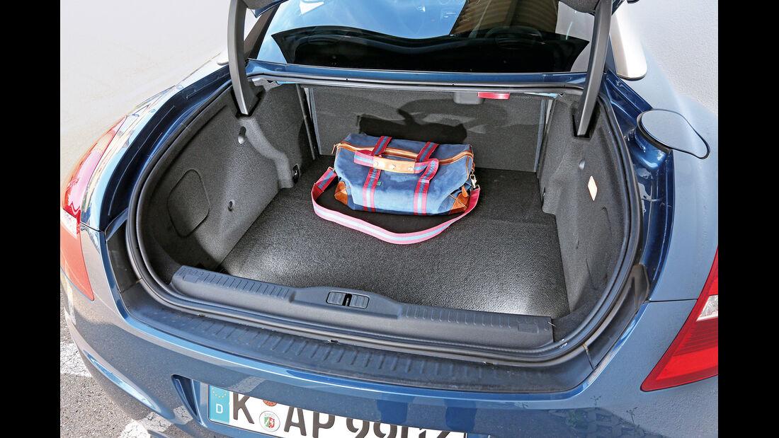 Peugeot RCZ 2.0 HDi 160, Kofferraum