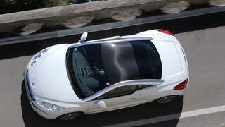 Peugeot RCZ 2.0 HDi 160, von oben