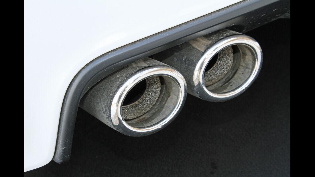 Peugeot RCZ 2.0 HDi FAP 163, Endrohr, Auspuff