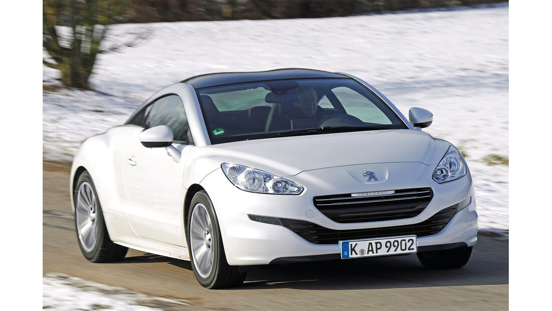 Peugeot RCZ 2.0 HDi FAP 163, Frontansicht