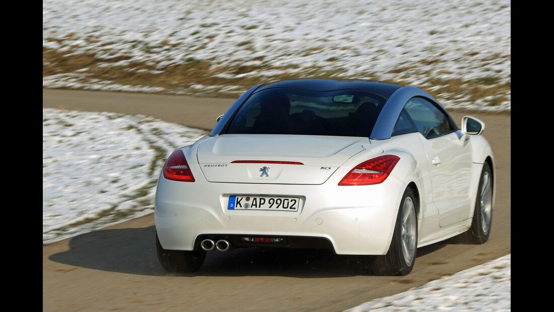 Peugeot RCZ 2.0 HDi FAP 163, Heckansicht