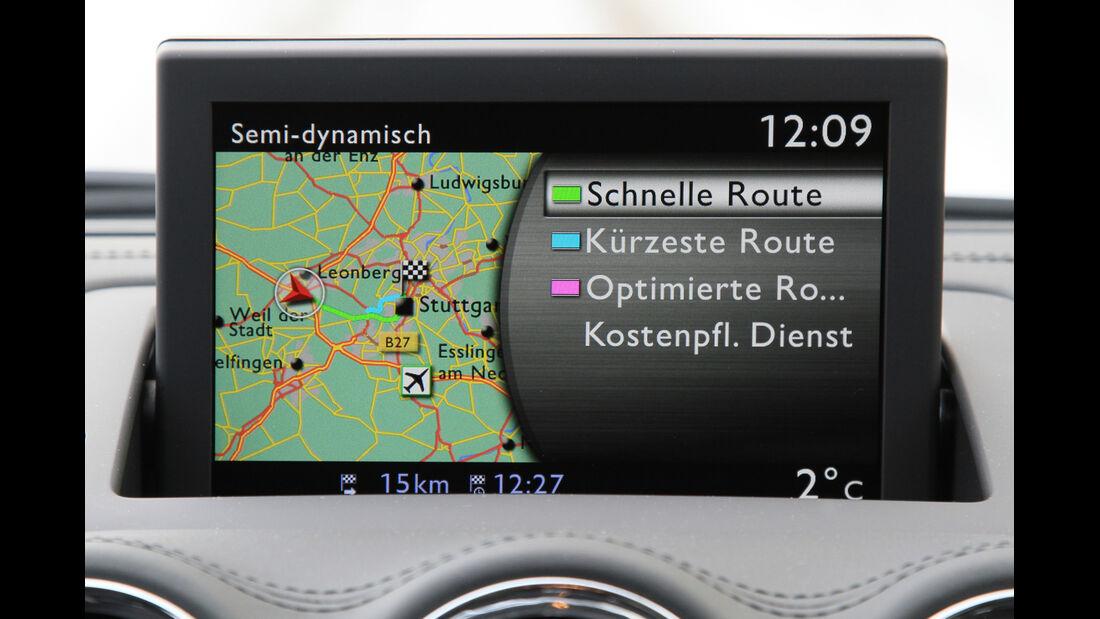 Peugeot RCZ 2.0 HDi FAP 163, Navi, Display