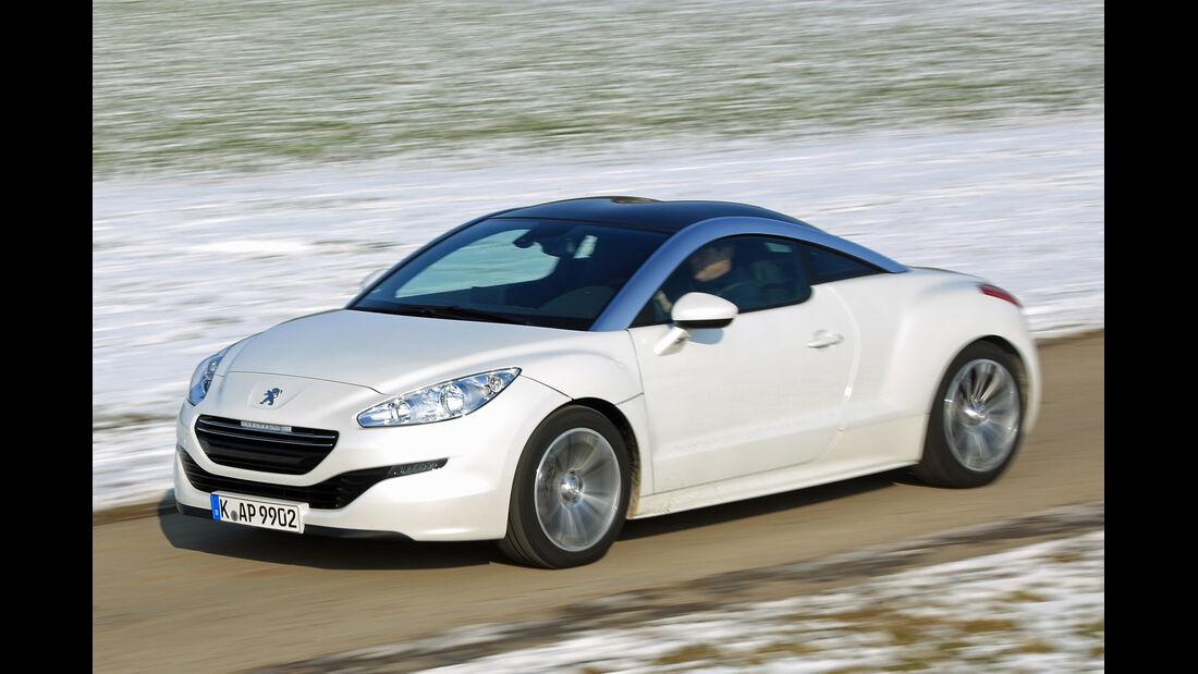 Peugeot RCZ 2.0 HDi FAP 163, Seitenansicht