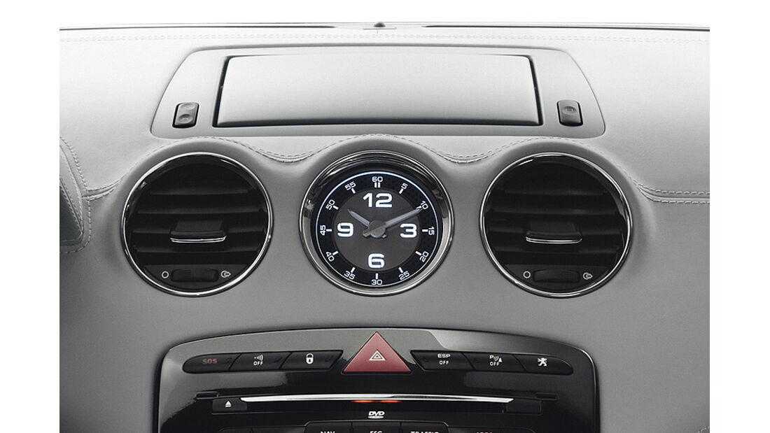 Peugeot RCZ Armaturenbrett Uhr