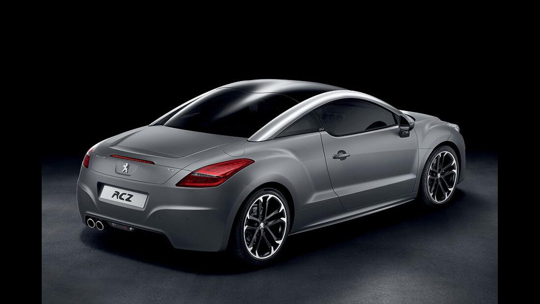 Peugeot RCZ Asphalt Sondermodell