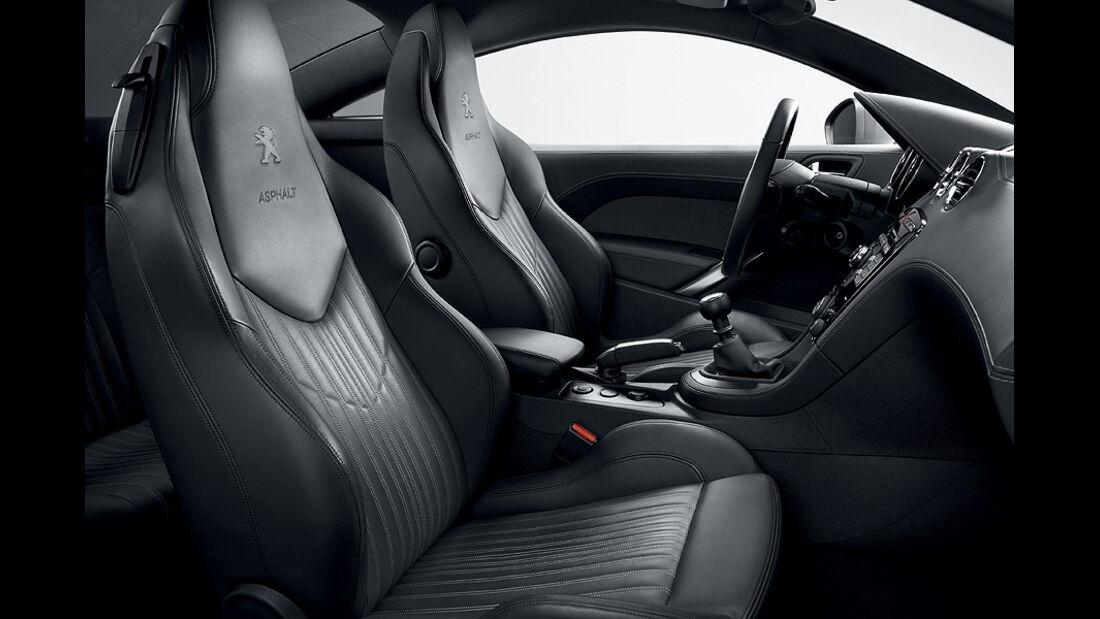 Peugeot RCZ Asphalt Sondermodell, Innenraum