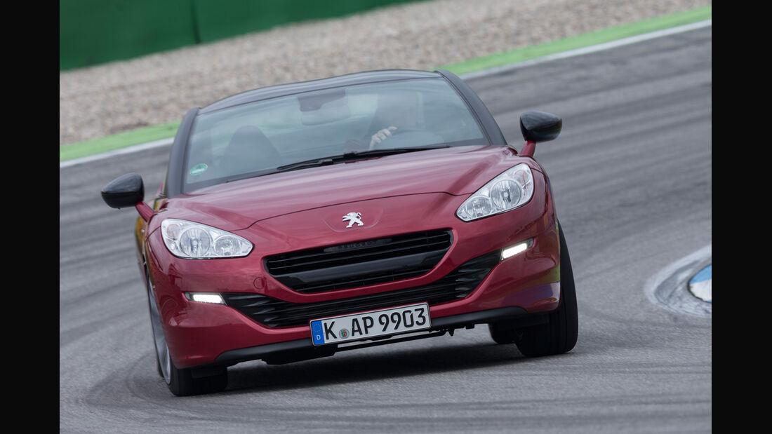 Peugeot RCZ, Frontansicht