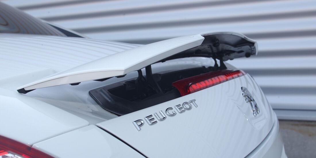 Peugeot RCZ, Heckspoiler