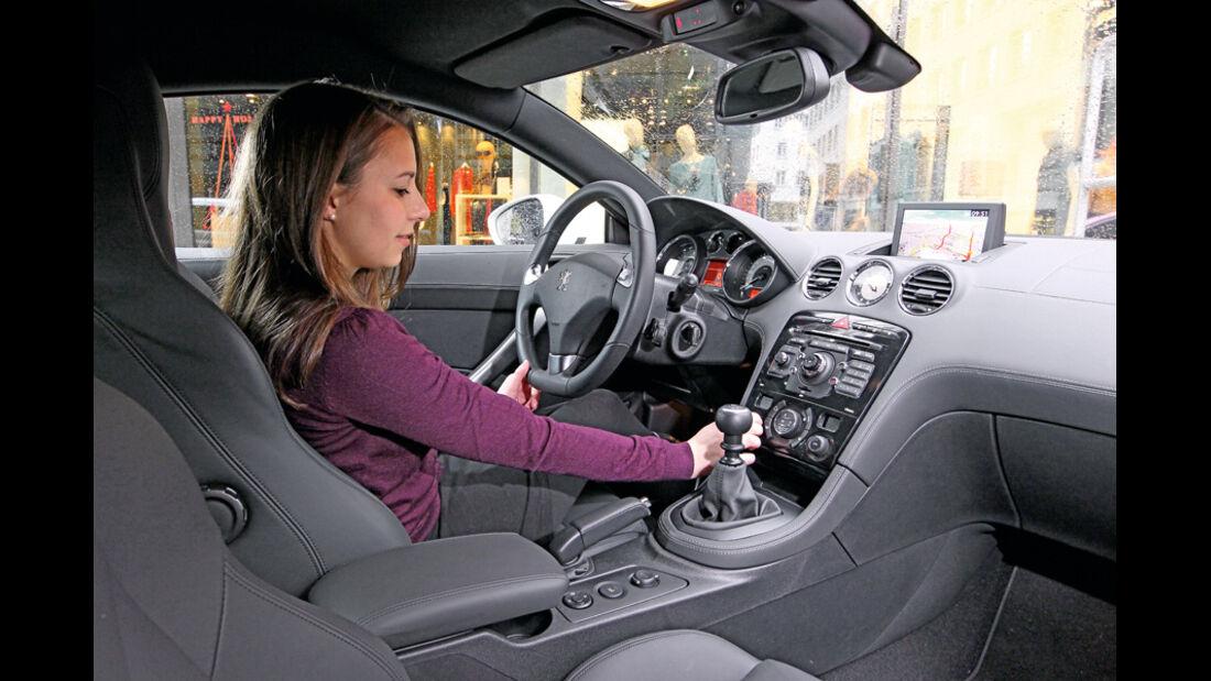 Peugeot RCZ, Innenraum