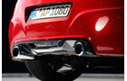 Peugeot RCZ R, Auspuff, Endrohre