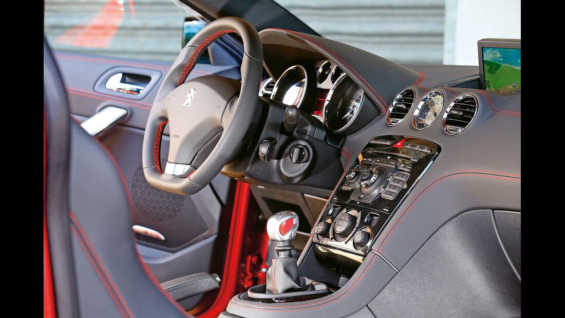 Peugeot RCZ R, Cockpit, Lenkrad