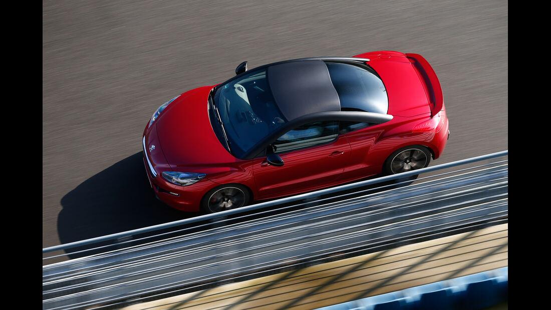 Peugeot RCZ R, Draufsicht