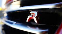 Peugeot RCZ R, Emblem, Typenbezeichnung