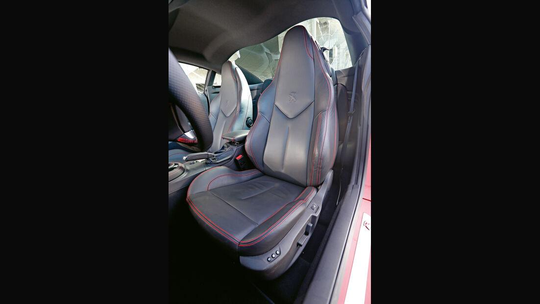 Peugeot RCZ R, Fahrersitz