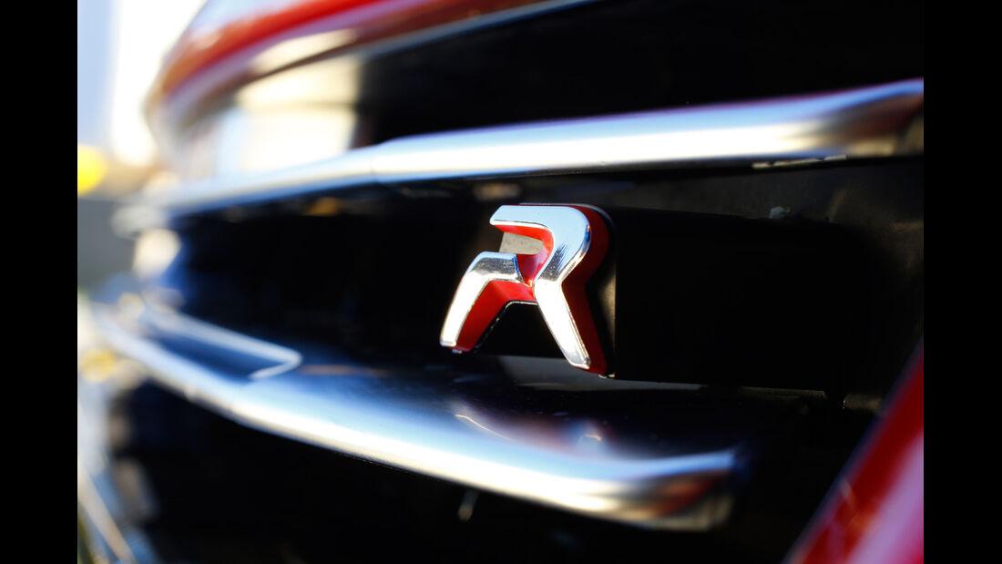 Peugeot RCZ R, Kühlergrill, Typenbezeichnung