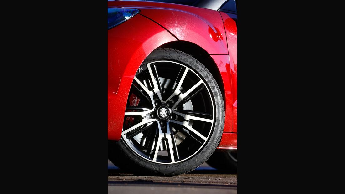 Peugeot RCZ R, Rad, Felge, Bremse