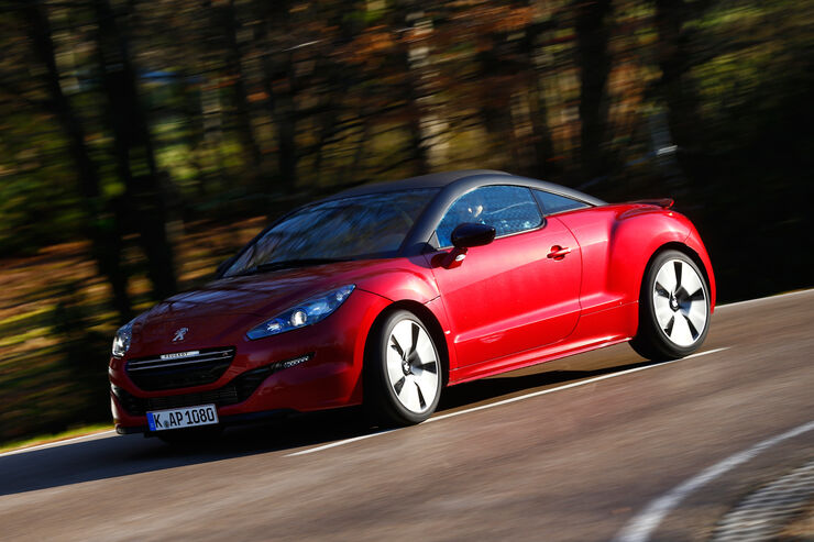 peugeot rcz r 1 6 270 thp im test auto motor und sport. Black Bedroom Furniture Sets. Home Design Ideas