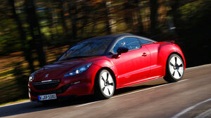 Peugeot RCZ R, Seitenansicht
