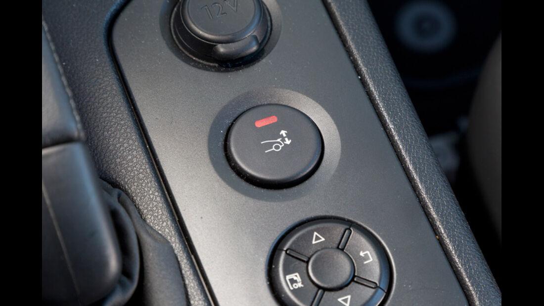 Peugeot RCZ, Tasten