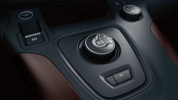 Peugeot Rifter 2018 Interieur Getriebewählknopf