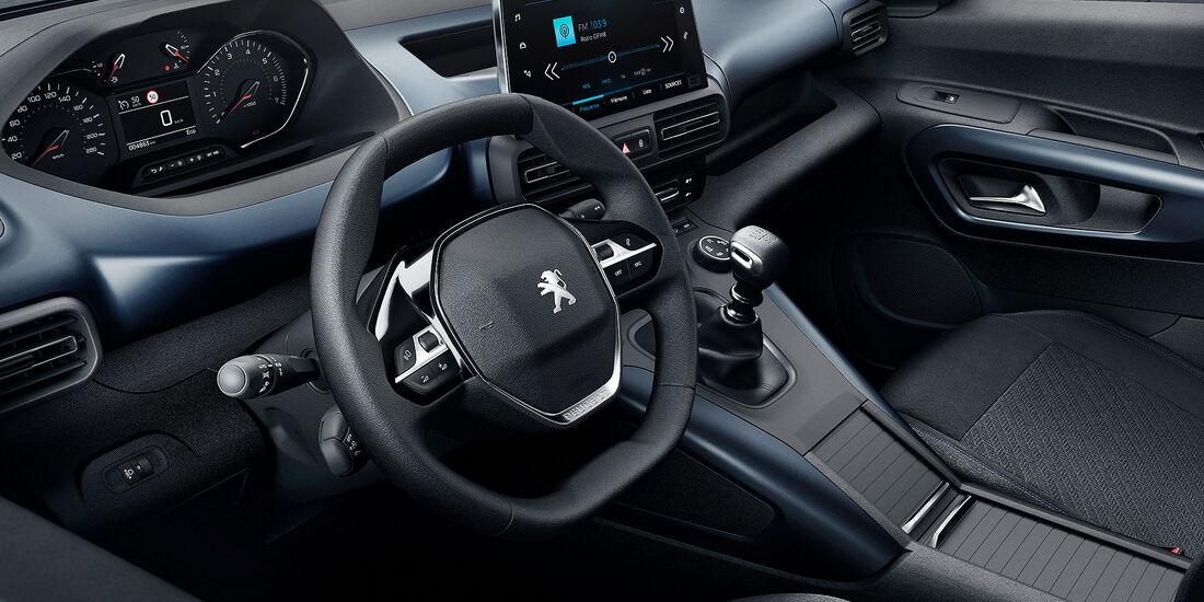 Peugeot Rifter 2018 Interieur Lenkrad