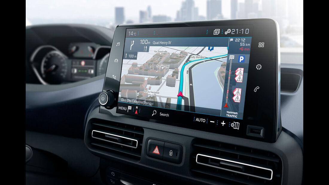 Peugeot Rifter 2018 Interieur Touchscreen