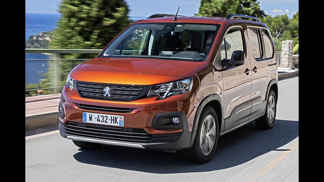 Peugeot Rifter, Best Cars 2020, Kategorie L Vans