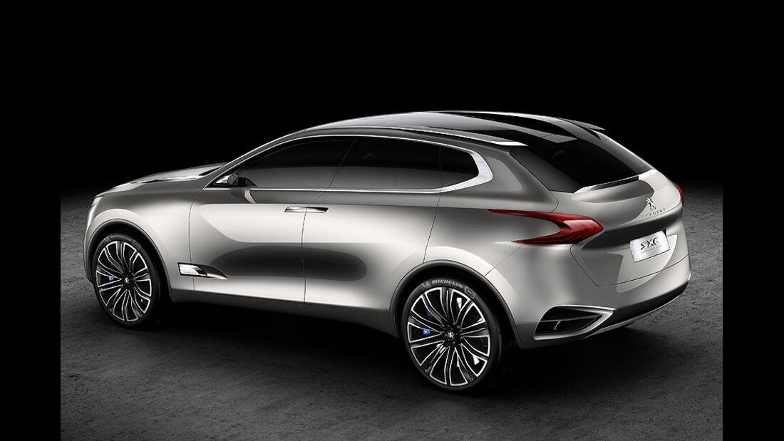 Peugeot SxC, Conceptcar, Heck