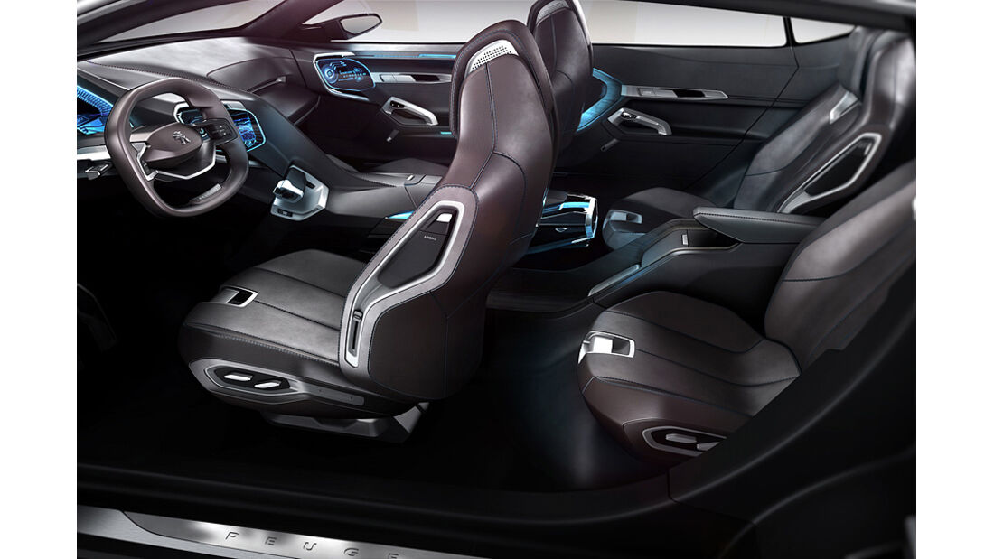 Peugeot SxC, Conceptcar, Innenraum