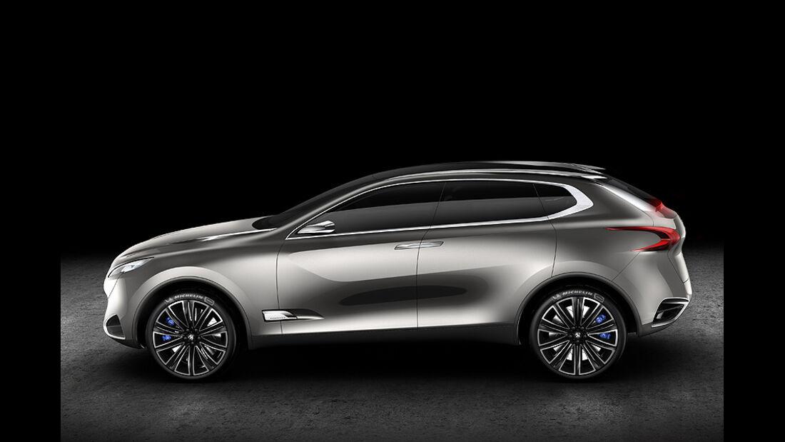 Peugeot SxC, Conceptcar, Seite