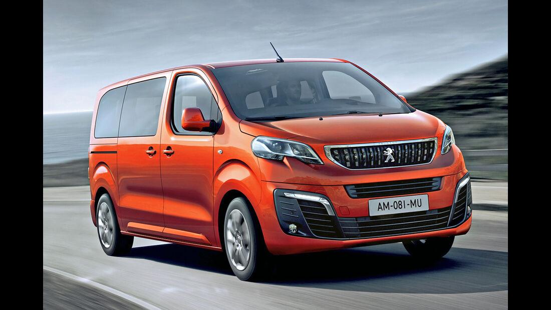 Peugeot Traveller, Best Cars 2020, Kategorie L Vans