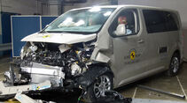 Peugeot Traveller EuroNCAP-Crashtest 12/2015