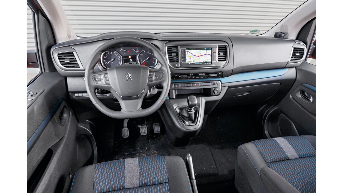 Peugeot Traveller HDi 150 L2, Cockpit