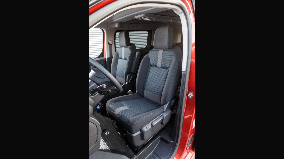 Peugeot Traveller HDi 150 L2, Fahrersitz