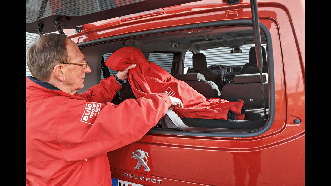 Peugeot Traveller HDi 150 L2, Heckklappe