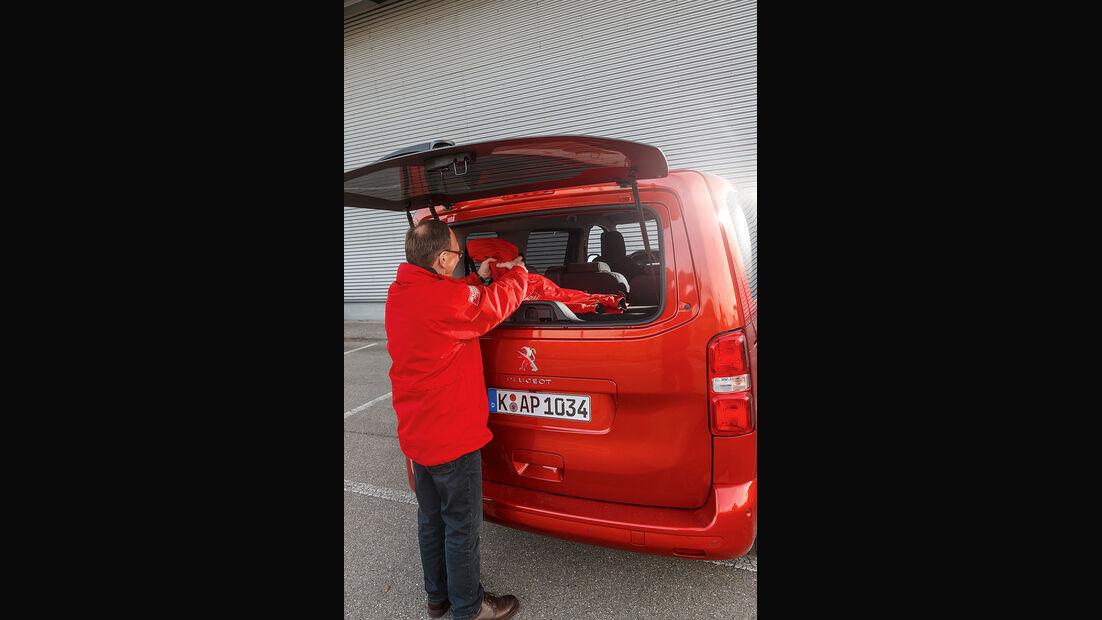 Peugeot Traveller Heck