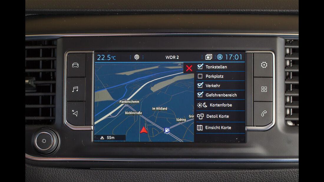 Peugeot Traveller Infortainment