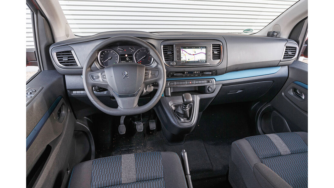 Peugeot Traveller Interieur