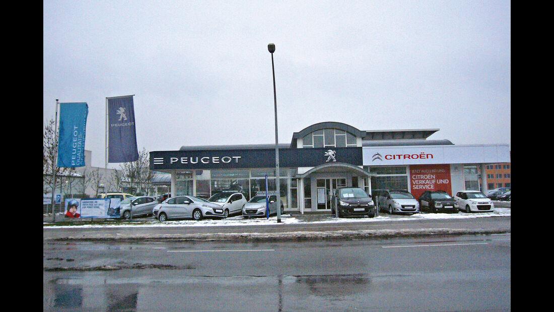 Peugeot, Werkstättentest, Berlin: Michael Hadad Autohandel GmbH