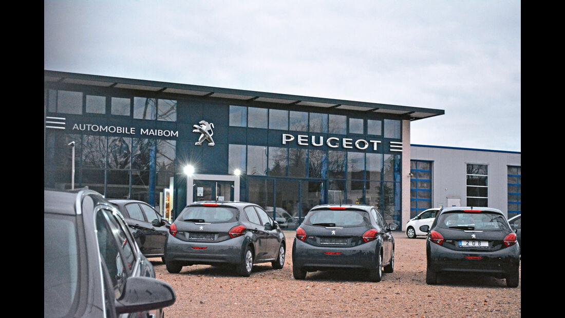 Peugeot, Werkstättentest, Dinslaken: Automobile Maibom GmbH & Co. KG