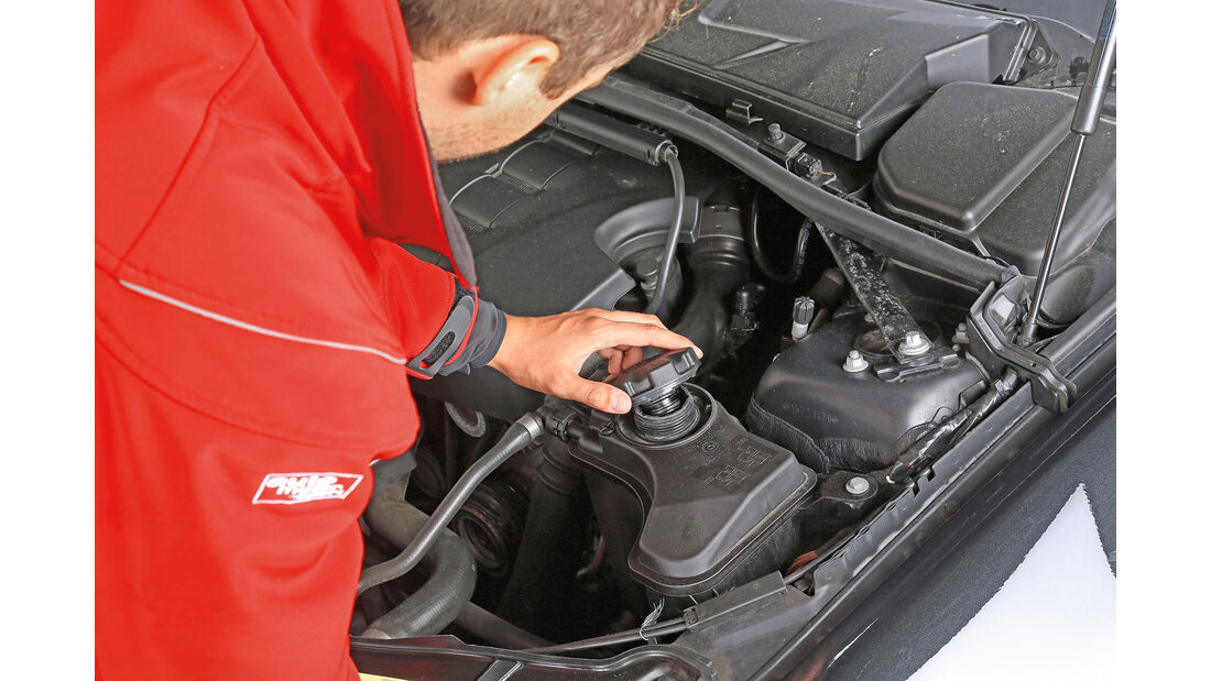 Peugeot, Werkstättentest, Unterboden