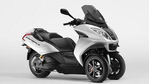 Peugeot e-Metropolis Konzept Elektro Dreiradroller
