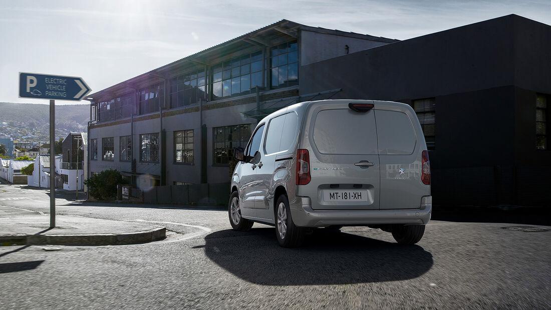 Peugeot e-Partner 2021