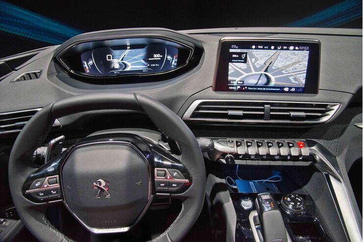 peugeot icockpit neue generation 2016 auto motor und sport. Black Bedroom Furniture Sets. Home Design Ideas